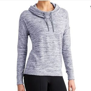 ATHLETA Blissful Cowl Neck Sweater Top Sweatshirt